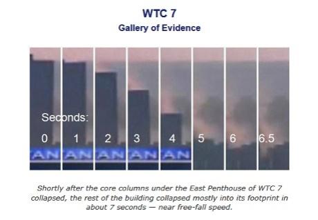 Building Seven WTC-7 September 11, 2001