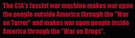 CIA Fascist War machine