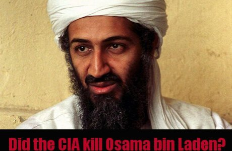Osama bin Laden killed by CIA on May 1st, 2011?